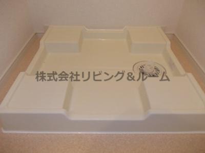 【洗面所】クリアネス三笠・Ⅲ棟