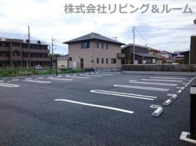 【駐車場】クリアネス三笠・Ⅲ棟