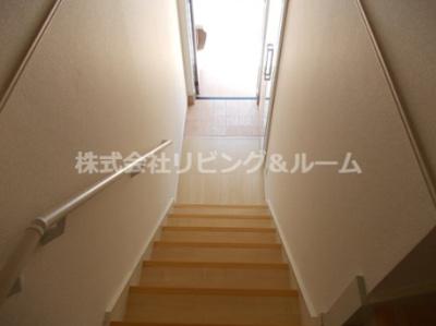 【玄関】クリアネス三笠・Ⅲ棟