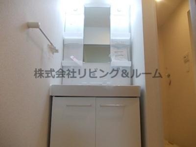 【独立洗面台】クリアネス三笠・Ⅲ棟