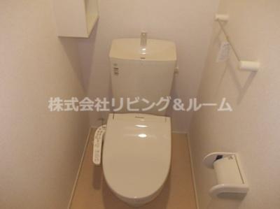 【トイレ】クリアネス三笠・Ⅲ棟