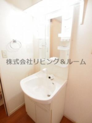 【独立洗面台】オークラ青山・C棟