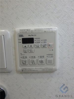 雨の日に大活躍する浴室乾燥機です☆