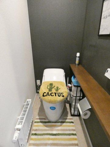 タンクレストイレでお掃除も楽々!