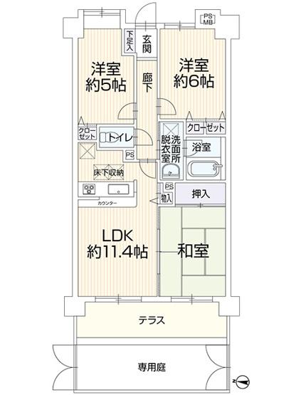 ライオンズマンション西新井大師第5