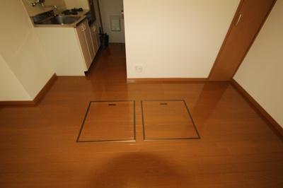 便利な床下収納