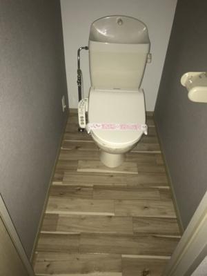 【トイレ】コーポ常福 B棟