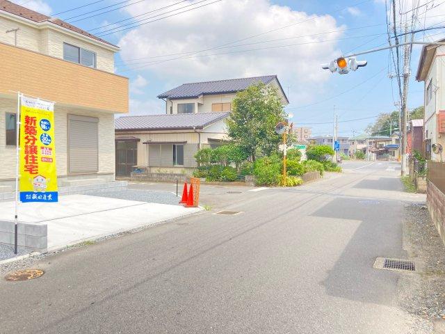 【前面道路含む現地写真】住吉町新築一戸建【1期2号棟】