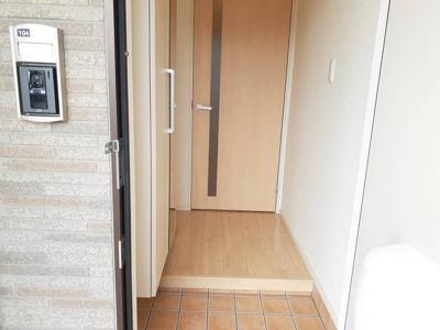 【玄関】レジデンスミナミ