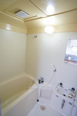【浴室】おかめ坂コーポ