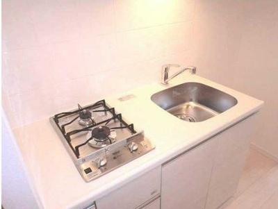 【キッチン】フェニシア三軒茶屋 ペット飼育可 浴室乾燥機 独立洗面台