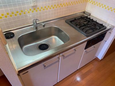 【キッチン】ステージグランデ三軒茶屋アジールコート
