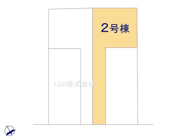 【区画図】新築戸建/ふじみ野市清見1丁目(全2棟)