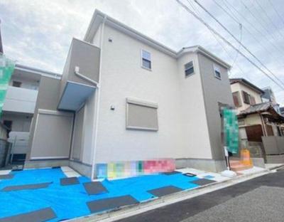 【外観】八尾市中田5丁目 新築戸建