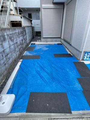 【駐車場】八尾市中田5丁目 新築戸建