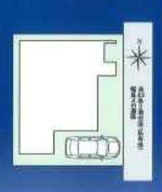 【区画図】八尾市中田5丁目 新築戸建