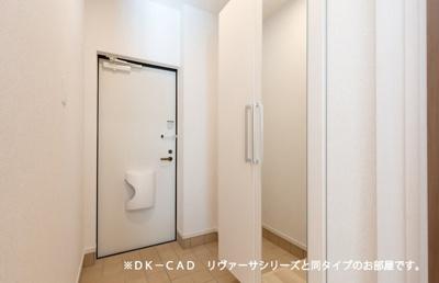 【玄関】ラ・ファミーユⅢ