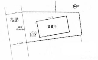 【土地図】南町住宅付倉庫事務所