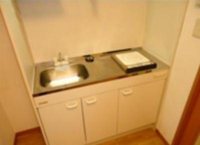 【キッチン】GRACE SETAGAYA 駅近 バストイレ別 室内洗濯機置場