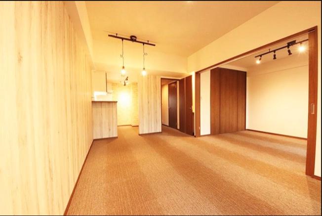 【居間・リビング】宮前平北パーク・ホームズ