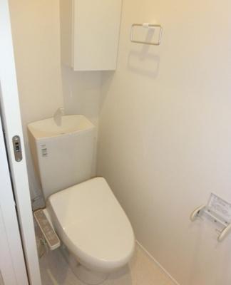 【トイレ】AKS三宿フラッツ オートロック 宅配BOX 独立洗面台