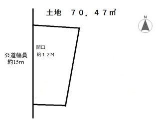 【土地図】岡崎市鴨田町