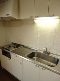 【キッチン】エコーバレー オートロック付 バストイレ別 室内洗濯機