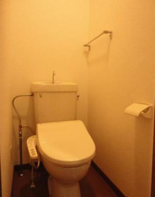 【トイレ】エコーバレー オートロック付 バストイレ別 室内洗濯機