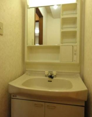 【洗面所】エコーバレー オートロック付 バストイレ別 室内洗濯機