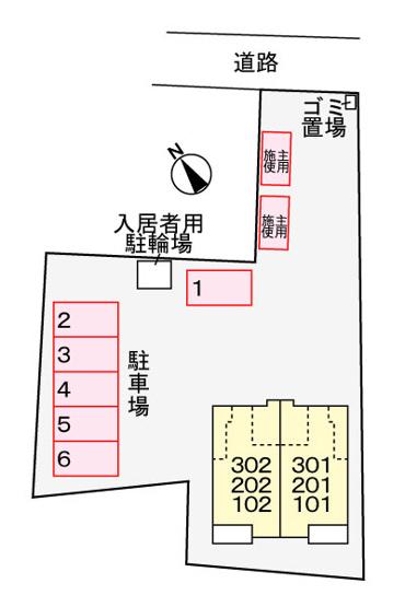 【地図】ドリームハウス