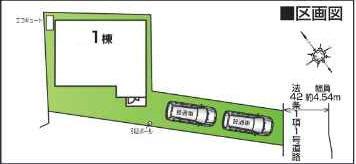 【区画図】ファーストタウン栗東市第1霊仙寺