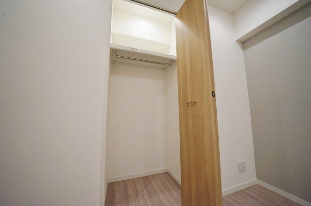 全居室収納付きでお部屋の空間を有効に使えます