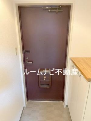 【玄関】ななハイツB