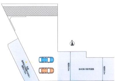 【区画図】ファーストタウン奈良市第8鳥見町