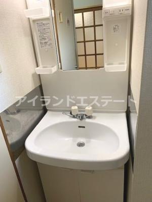 【その他】大岸ハイツ 独立洗面台 室内洗濯機置場 バストイレ別