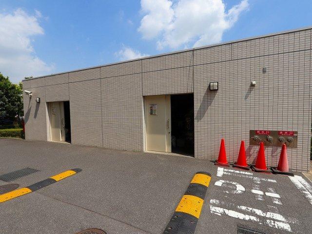 ゴミ置き場24時間ゴミ出し可能:吉川新築ナビで検索