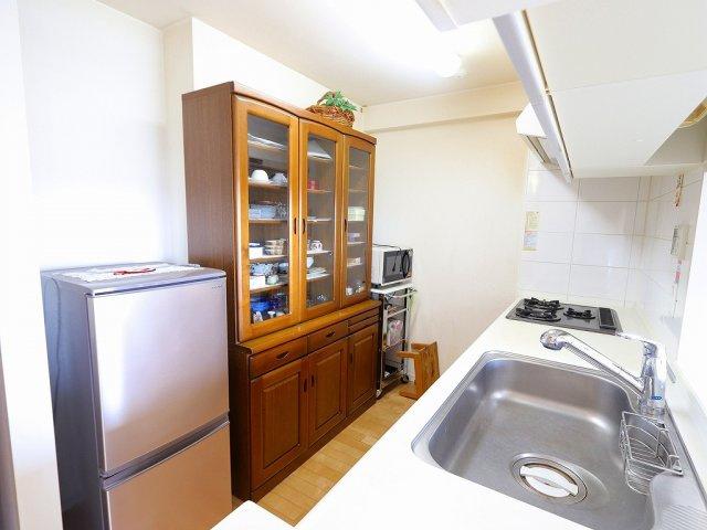 ゆとりのあるキッチンです 吉川新築ナビで検索