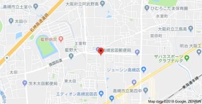 【地図】エトワール田中 (株)Roots
