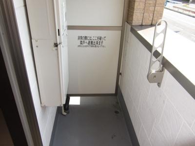【バルコニー】フジパレス浜寺ノース6番館