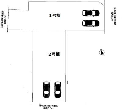 【区画図】ファーストタウン神戸市第3玉津町出合