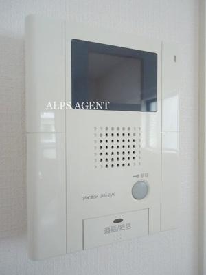 TVモニタホン完備でセキュリティ面も安心(同一仕様)