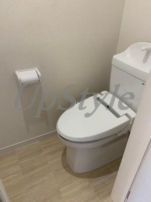 【トイレ】ルネコートお花茶屋
