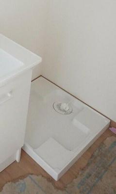 201号室 洗濯機置