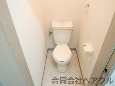【トイレ】メゾンドール21