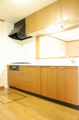 【キッチン】カーサコモドⅠ
