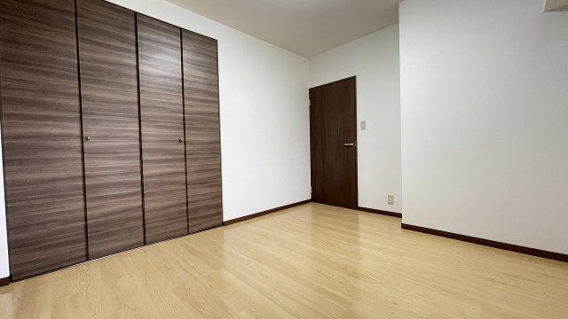全室にクローゼット有り。収納充実しています