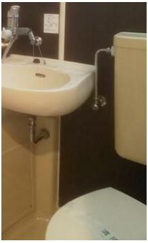 お掃除のしやすい3点ユニット・トイレ(同一仕様)
