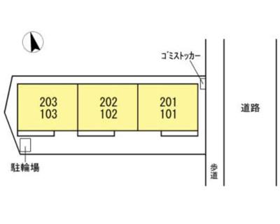 【地図】セレシェイラ弐番館