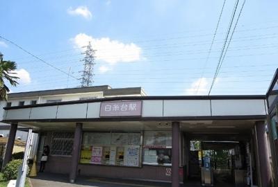 白糸台駅まで800m