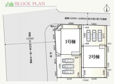 【区画図】掛川市二瀬川 新築一戸建て 1号棟 AN